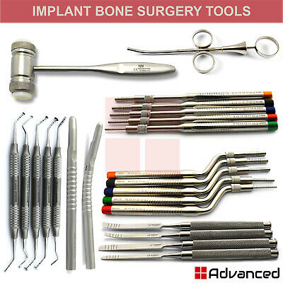 Dental Implant Bone Grafting Instruments Oral Maxillary Sinus Lifting Osteotomes