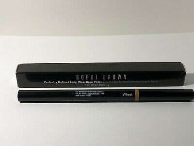 Bobbi Brown Perfectly Defined Long Wear Brow Pencil 4 Wheat .01oz New Boxed