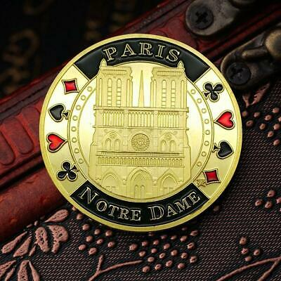 Cathedrale Notre Dame Of Paris Memory Coin De Medal Cathedral Church