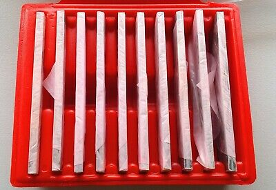 "10 Pairs in 1/8"" set Steel Parallels   20pc"