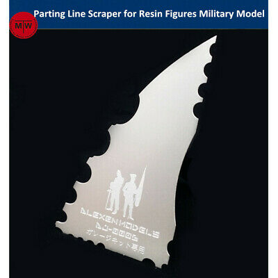 Parting Line Scraper Hand Tools for Resin Soldier Figures Military Model Kits