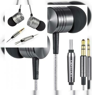 Betron B650 Noise Isolating Earphones Headphones, Powerful Bass, Volume & Mic