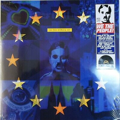 "U2, The Europa EP, NEW/MINT Ltd edition 12"" vinyl single w/ insert etc RSD 2019"