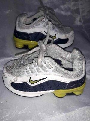 best loved 66c0d 9b197 Sneakers Nike Air Shox Bambino Scarpe Ginnastica Bianche22 Children Shoes