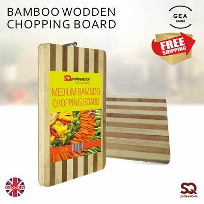 Anti Microbial Wooden Bamboo Slicing Cutting Chopping Board and Serving Tray