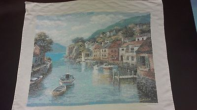 Precioso cuadro a punto cruz. Cross stitch picture. Hilos DMC. DMC threads