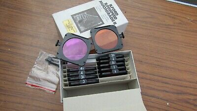 Filter Set Ilford Ilfospeed Multigrade 2 II without holder Vintage Photography