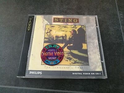 Philips Cdi Sting Ten Summoner's Tales Windows Cd-I Video Cd The Police