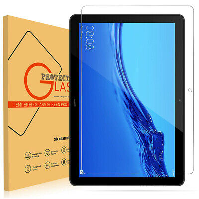 """Huawei MediaPad T5 10.1""""(inch) Tablet Shockproof Tempered Glass Screen Protector"""