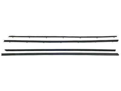New 1967-68 Mustang Beltline Weatherstrip Fastback GT Shelby Felt Seals Ford