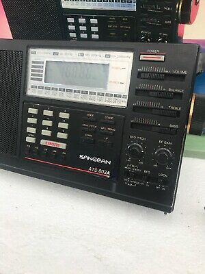Sangean ATS-803A Vintage World Band Radio