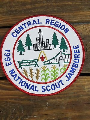 Boy Scouts Of America 1993 National Scout Jamboree Central Region Patch BSA VTG