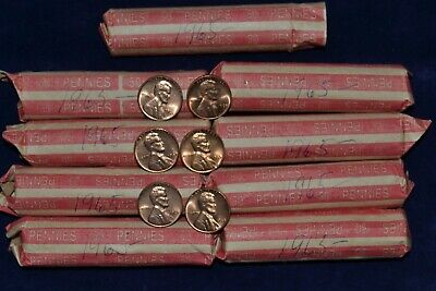 1965 P Lincoln Cent Roll- Super Nice Beautiful Coins Penny