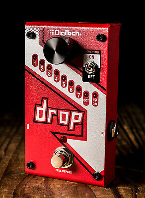 DigiTech The Drop Polyphonic Drop Tune Pedal - Free Shipping