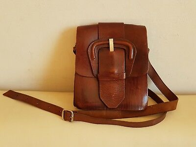 Real Leather Hand made Cartridge bag Travel Bag