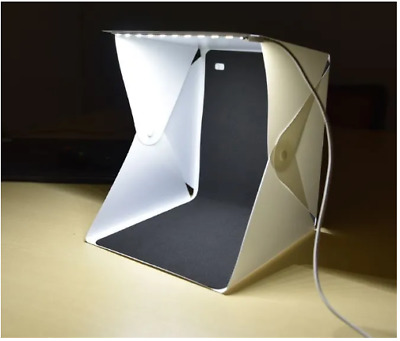 Mini Studio Photo Pliable Portable Studio lumière LED Tente De Tir photos 2019