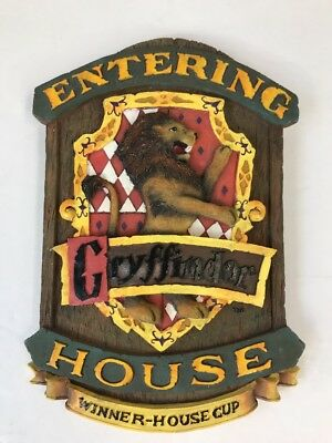 Harry Potter Gryffindor House Winner House Cup Wall Plaque Sign Collectible
