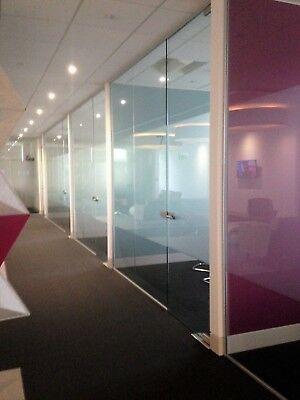 NEW -Glass Partitioning, Glass Partitions, Glass Doors, Glass Office Partitions