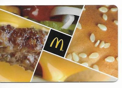 Mcdonalds Restaurant Gift Card No Value 2017 Christmas