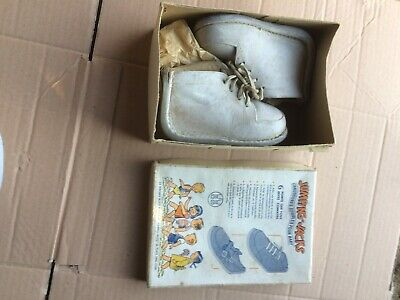 Juumping Jacks Kids 1950s Vintage Shoes Childrens Children Shoes Box Box