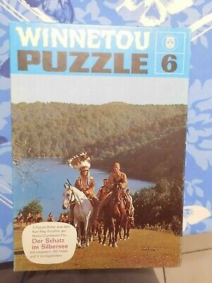 Karl May Puzzle - Winnetou Puzzle 6 - Topzustand