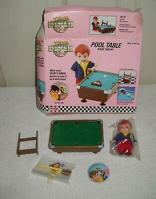 #10110 NIB Vintage TYCO Dixie's Diner Pool Table with Mitch Figure