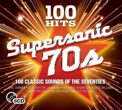 Supersonic 70s: 100 Classic Sounds Of The Seventies (5-CD) Import,Box set