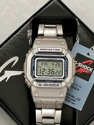 Casio G Shock Dw 5000bl 2 Rare Screwback Case Stainless Steel