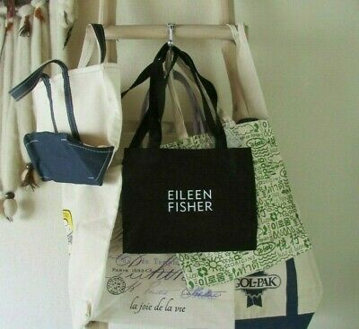 New Assorted Brand Names Canvas/Cotton/Burlap S/M/L/Xl Tote Bags