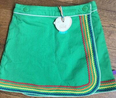 Little Bird By Jools Oliver Girls  Green Skirt Age 6-7 Years 🌈
