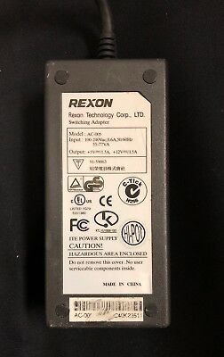 REXON AC 005 SWITCHING power supply 91-59063 cable plug brick drive unit MAXTOR