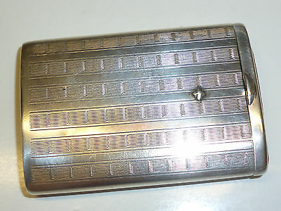 Vintage German Art Deco 935 Silver Match Box Holder - Streichholzbox -Nice Piece