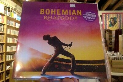 Bohemian Rhapsody OST 2xLP sealed vinyl original soundtrack Queen