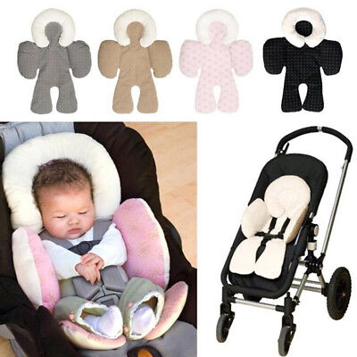 Infant baby soft stroller car seat pillow cushion head body support pad mat SP