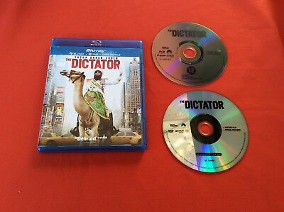 Dictator The Sacha Baron Cohen DVD Blu-Ray Disco Vídeo Película Pal VF Vo