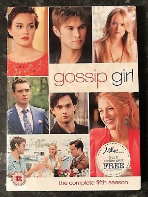 Gossip Girl Complete Season 5 (5-Disc Dvd Set)Brand New & Sealed Mint Free Post