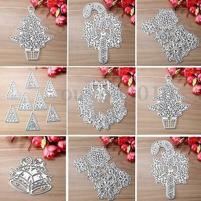 Metal Cutting Dies Stencil Scrapbook Album Paper Card Embossing Craft Gifts  ES