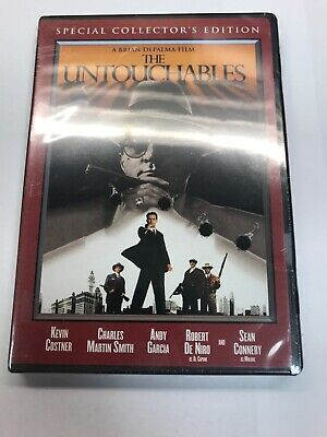 The Untouchables (DVD, 2004 Widescreen Special Collector's Ed) Kevin Costner NEW