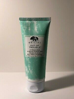 Origins Out of Trouble 10 Minute Mask to Rescue Skin 3.4oz /100ml New