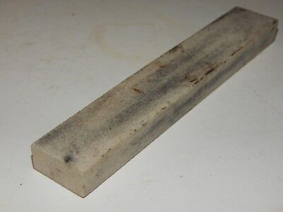 "VINTAGE 6"" X 1"" X 1/2"", SMOOTH FINE, White, Stick Pocket Sharpening Stone USED"