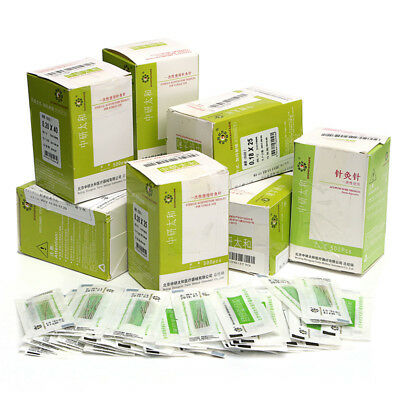 500pcs/box Acupuncture Disposable Needle Sterile Needles one time Use
