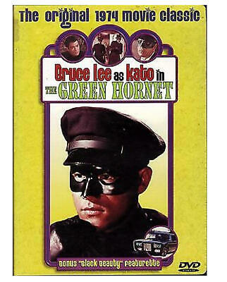 Bruce Lee As Kato In The Green Hornet Movie: Dvd (1974 Classic Movie)