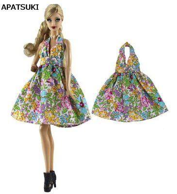 """Colorful Party Dress Fashion Clothes For 11.5"""" Doll Dress Outfits 1/6 Doll Toy"""