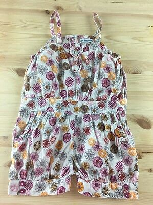 Girls Cute Vertbaudet Summer Short Multi-Colored Romper 86 cm 2 years