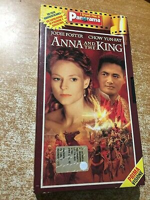 Vhs Anna and the King con Jodie Foster Grandi Film Panorama