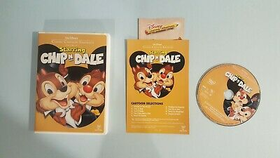 Walt Disneys Classic Cartoon Favorites Starring Chip n Dale (DVD, 2005)