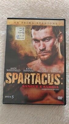 DVD SPARTACUS SANGUE E SABBIA 5 - PRIMA STAGIONE (Andy Whitfield, Lucy Lawless)