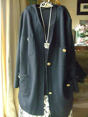 Harrods FABULOUS vintage jacket with brass buttons