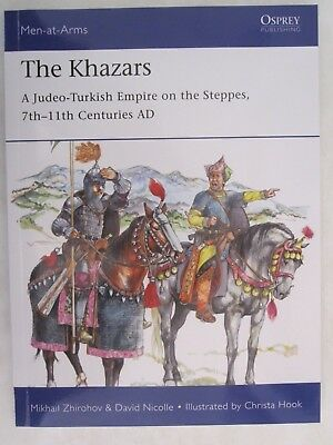 Osprey - The Khazars: A Judeo-Turkish Empire on the Steppes (Men-at-Arms 522)