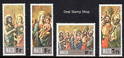 Malta 1976 Christmas Complete Set  SG 568 - 571 Unmounted Mint